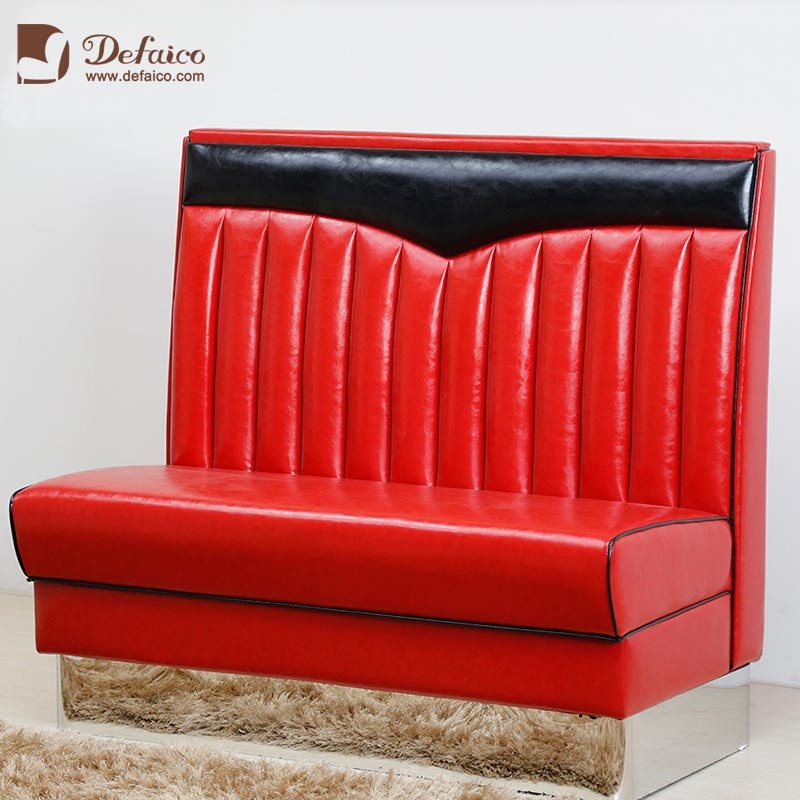 Magnificent Red Vintage Furniture New York Sofa High Back Xi Pi Soft Machost Co Dining Chair Design Ideas Machostcouk