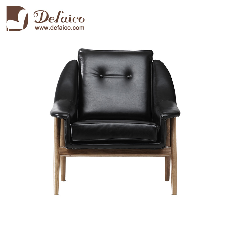 Prime Black 1 Seat Leather Sofa Chair Have Soft Cushion And The Machost Co Dining Chair Design Ideas Machostcouk
