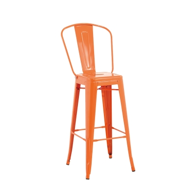 Thick Material Plastic Bar Chair Use In Kitchen Dining Club Lobby