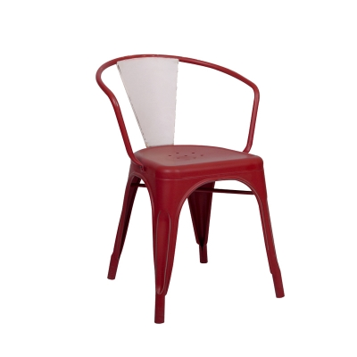 White Modern Dining Plastic Chair Light Outdoor Furniture Color Customized