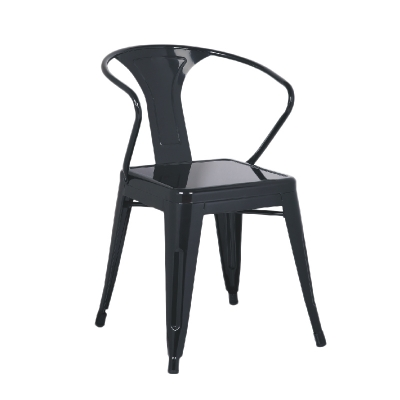 Yellow Powder Coating Dining Chair Wholesale For Outdoor Leisure