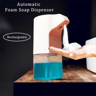 Smart infrared bathroom sensor automatic hand sanitizer portable hands free foam soap dispenser